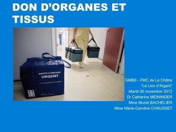 DON D'ORGANES ET TISSUS