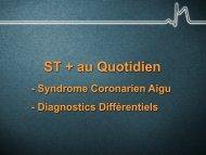 Diagnostics Différentiels