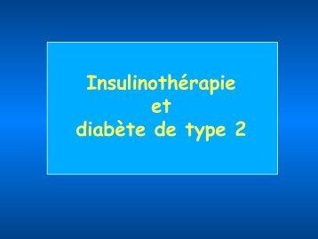 Insulinothérapie et diabète de type 2