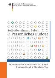Persönliches Budget - Budget-tour.de