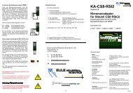 BA KA-CS8-RSI2 Ver.2 - eule-roboter.de