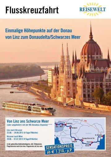 Flusskreuzfahrt von Linz ans Schwarze Meer
