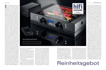 hifi &records - Goosebumps Audio