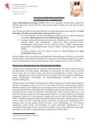 FASD (Fetale Alkoholspektrum-Störungen) Kurzinformation für ...