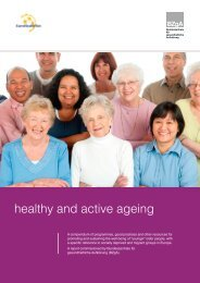 healthy and active ageing - EuroHealthNet's Healthy Ageing Website