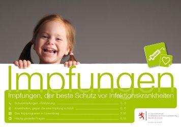 Impfungen, der beste Schutz vor Infektionskrankheiten