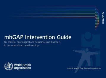 PDF (WHO mhGAP Intervention Guide)