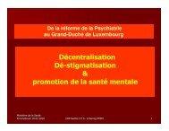 La réforme de la décentralisation et la nouvelle approche de la ...