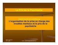 Le Prix de la Psychiatrie