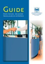 Guide pour l'accueil des jeunes travailleurs en entreprise - AAA