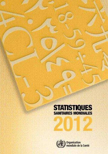 Statistiques sanitaires mondiales 2012 - World Health Organization