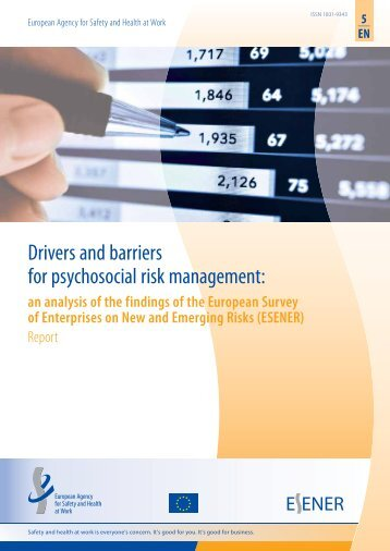 Drivers and barriers for psychosocial risk management: - European ...