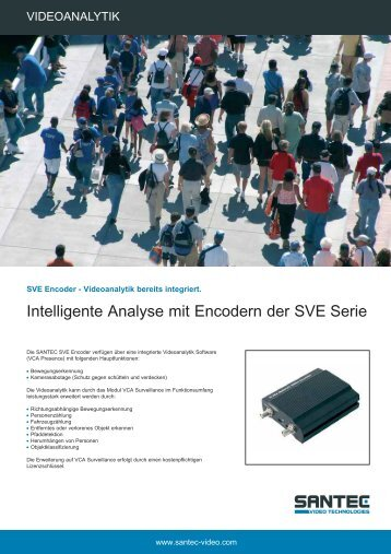 Videoanalytik - Santec-video.de