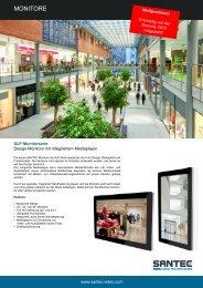 Design-Monitore mit integriertem Mediaplayer - EUVI-KOM GmbH