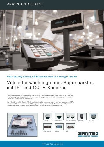 und CCTV Kameras - Santec-video.de