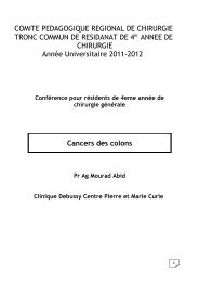 II. Anatomie chirurgicale du colon - Santé Maghreb