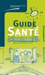 Guide Santé (Page 1) - Santé Montérégie