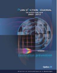 les cibles d'action - Santé Montérégie