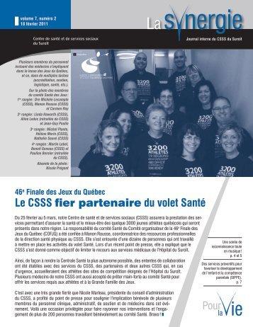 18 Février 2011 - Santé Montérégie