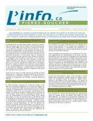 Info CA 26 juin 2008 - Santé Montérégie