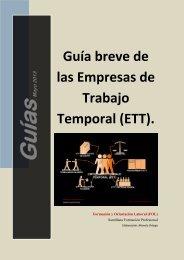 Guía breve de las Empresas de Trabajo Temporal (ETT). - FOL