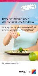 Besser informiert über das metabolische Syndrom - Santoux.ch