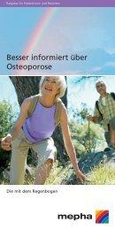 Besser informiert über Osteoporose - Santoux.ch