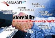 storebility - Ihre Lösung stellt sich vor! - SAP Electronic AG