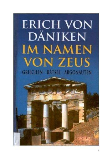 Erich von Daeniken - Im Namen von Zeus.pdf - Sapientia