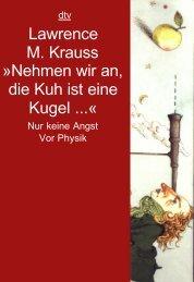 Lawrence M. Krauss - Nehmen wir an die Kuh ist eine Kugel