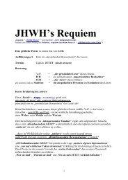 JHWH's Requiem - Sapientia