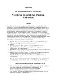 Atomkrieg in parallelen Quanten-Universen! - Sapientia