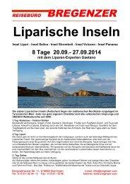 Liparische Inseln - Reisebüro Bregenzer GmbH
