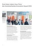 AUM_InnovationAward_Broschuere (PDF) - Automechanika ... - Seite 2