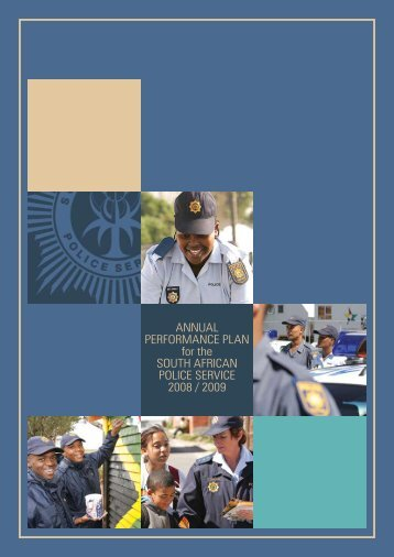 AnnuAl PerformAnce PlAn for the South AfricAn Police ... - Saps