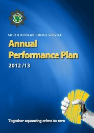 Annual Performance Plan - Saps