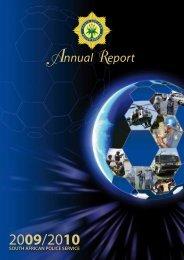 Annual Report 2009 - SAPS