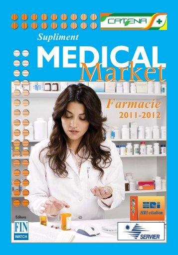 Supliment FARMACIE 2011 final.qxp - Saptamana Medicala