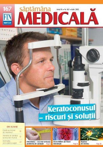 Keratoconusul – riscuri şi soluţii - Saptamana Medicala