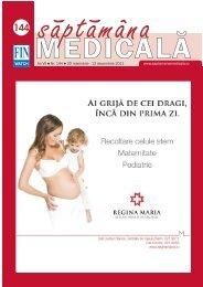 An VII • Nr. 144 • 30 noiembrie - Saptamana Medicala