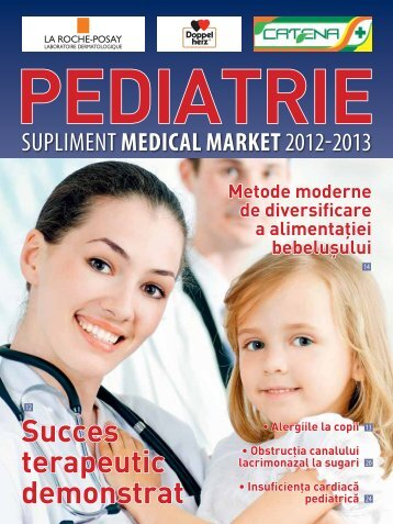 Supliment PEDIATRIE 2012-2013 - Saptamana Medicala