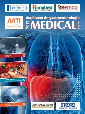 Supliment GASTROENTERO 2013 - Saptamana Medicala