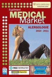 Supliment ALERGOLOGIE - Saptamana Medicala