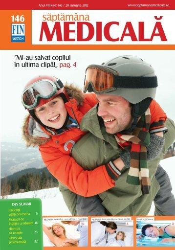 Citeste revista in format pdf - Saptamana Medicala