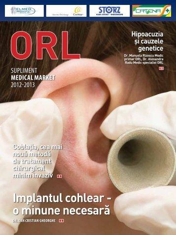 Supliment ORL 2012-2013 - Saptamana Medicala