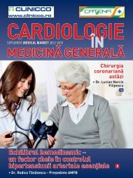 Supliment CARDIOLOGIE in medicina generala 2012-2013