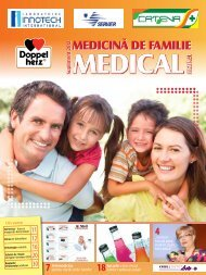 Supliment MEDICINA DE FAMILIE 2012-2013 - Saptamana Medicala