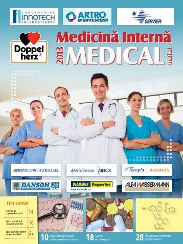 Supliment MEDICINA INTERNA 2013 - Saptamana Medicala