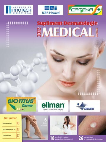 Supliment DERMATOLOGIE 2012-2013 - Saptamana Medicala