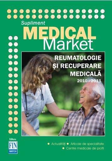 Supliment REUMATOLOGIE & RECUPERARE MEDICALA